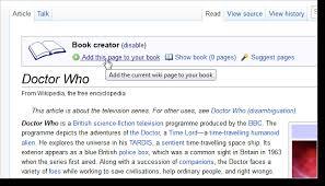 Wikipedia Create How To Create Ebooks From Wikipedia Articles