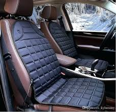 heated seat cushion winter polyester car seat covers heated seat cushion with 3 way temperature controller