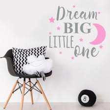 dream big little one e baby girl pink