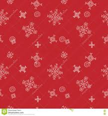 red snow christmas background. Simple Snow Download Snowflakes Seamless Vector Pattern Red Snow Christmas Background  For Wrapper Stock  With