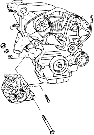 solved need the torque specifications for a 2002 hyundai fixya fig exploded view of the alternator xg 300