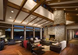 Vaulted Living Room Decorating Interior Exotic Vaulted Ceiling Living Room Getty 45 Design