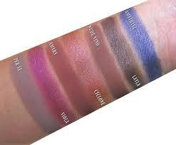 natasha denona lila eye shadow palette swatches sephora swatched makeup natashadenona