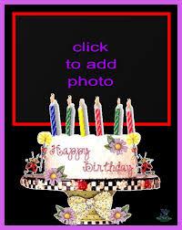imikimi zo birthday frames animated cake frame