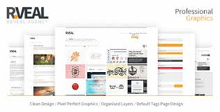 Psd Website Templates Best RVeal Theme By Nikini ThemeForest