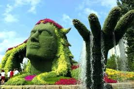 garden figures. Garden Figures Amazing And Designs Creative Decorated Gardens With Part