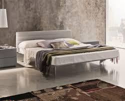 Solid Ash Bedroom Furniture Veneran Italia Slim Italian Solid Birch Ash Bed With Real