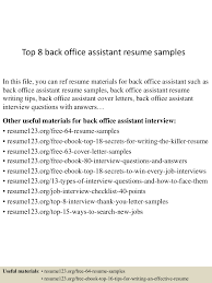 Office Assistant Resume Sample Complete Guide 20 Examples Cv Samples