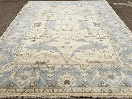 9x12 hand knotted wool rug woven made oushak transitional persian safavieh loloi