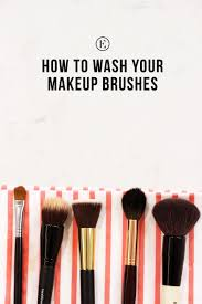 how to how to dry makeup brushes fast how to clean your makeup brushes well