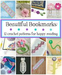 Free Crochet Bookmark Patterns