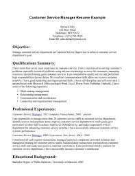 Pleasurable Ideas Customer Service Resume Objective 10 Pretty