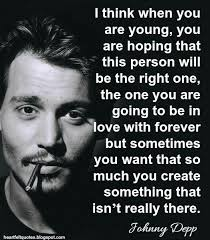 Johnny Depp Love Quotes Best Interesting Johnny Depp Quotes And Sayings Golfian