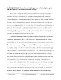 exemplary college essay college sample essays accepted