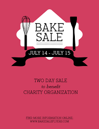 Bake Sale Flyer Templates Free Bake Sale Flyer Bake Sale Flyers Free Flyer Designs