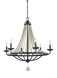 6 light chandelier