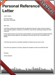 Personal Recomendation Letter New How To Write A Personal Reference Letter Sample