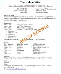 first job resume objectivesample of an resume cv_page1 banking free cv examples example of a cv resume