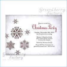 Company Holiday Party Invitation Wording Company Christmas Invitations Templates Business Template
