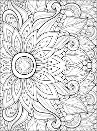 coloring pages flowers 2 2
