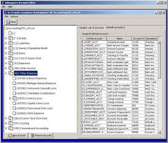 Quicken Chart Of Accounts Templates Adempiere Chart Of Accounts Editor Wiki Home