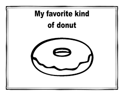 Small Picture Coloring Download Doughnut Coloring Page Doughnut Coloring Page