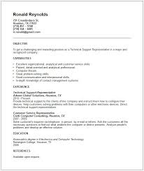 Technical Resume Template 44 Images Technical Resume Sample