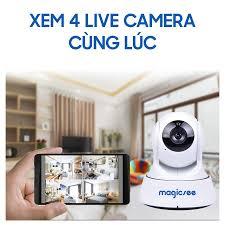 Camera giám sát Magicsee S6300 Plus - Camera wifi IP Không dây dành cho  người Việt