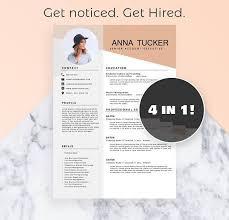Resume Modern E Modern Resume Template Cv Template Professional And Creative