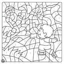 Bolcom Kleurboek Cijfers Kleuren Onbekend 9789048306343 Boeken