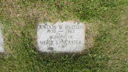 Gordon Walter Hudson (1930-1962) - Find A Grave Memorial