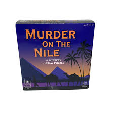 It's an excellent game of seek and find, puzzles, questioning witnesses. University Games Murder On The Nile Classic Mystery Jigsaw Puzzle For Sale Online Ebay