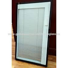 china blinds between glass manual window shutter window shutter with insulated glass inside
