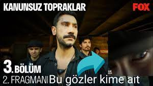Kanunsuz Topraklar Hazar Motan 3. Bölüm fragmanındaki gözleri görünen  oyuncu kim? #kanunsuztopraklar - YouTube