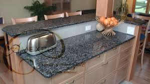 sapphire blue granite kitchen countertop 14 round rounded corners on granite countertops