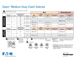 Eaton Fuller Clutch Chart Spicer Clutch Chart Related Keywords Suggestions Spicer