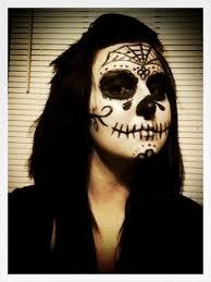 sugar skull day of the dead makeup costume dia de