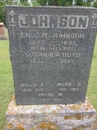 Susan Ida Boyd Johnson (1872-1947) - Find A Grave Memorial