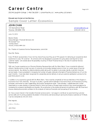 Customer Service Cover Letter Financial Customer Service Representative Resume Cover