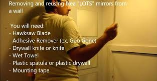 remove glued mirror how to remove and reuse lots mirrors remove adhesive mirror remove adhesive mirror