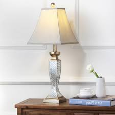 good looking mosaic table lamp furniture to convertable safavieh lighting 28 inch mirror mosaic table
