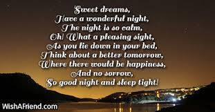 Sweet Dreams Quotes And Poems Best of Embrace The Night Good Night Poem