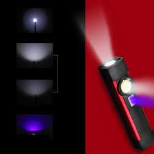 Outdoor Uv Light Skywolfeye Portable Led Cob Uv 500lumens 4modes Usb Rechargeable Work Light Outdoor Multifunctional Waterproof Maintenance Lamp Flashlight With