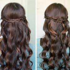 Prom Hairstyle Picture our favorite prom hairstyles for mediumlength hair more 3593 by stevesalt.us