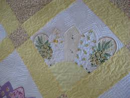 250 best Vintage Linen Quilts images on Pinterest | Stitching ... & hankie quilt | Quiltz: My Quilt for the Blogger's Quilt Festival: A  Handkerchief . Adamdwight.com