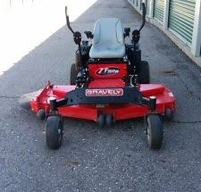 used zero turn mowers gravely zero turn mower zt 60 hd
