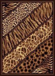 united weavers legends area rug 910 03150 slanted safari black animal prints 5 3 x 7 2 rectangle