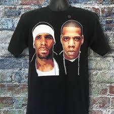 Rap R B Charts R Kelly Jay Z Best Of Both Worlds Tour Rap T Shirt