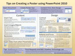 Create A Poster In Powerpoint Instructions For Capstone Day Posters Ppt Download