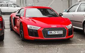 audi r8 2015 red.  2015 Audi R8 V10 Plus 2015 And Red U